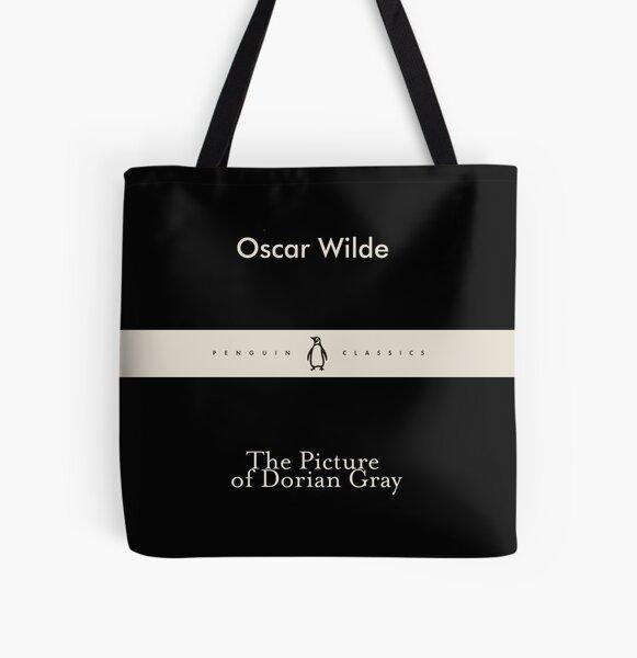 Oscar Wilde Dorian Gray Bolsa estampada de tela