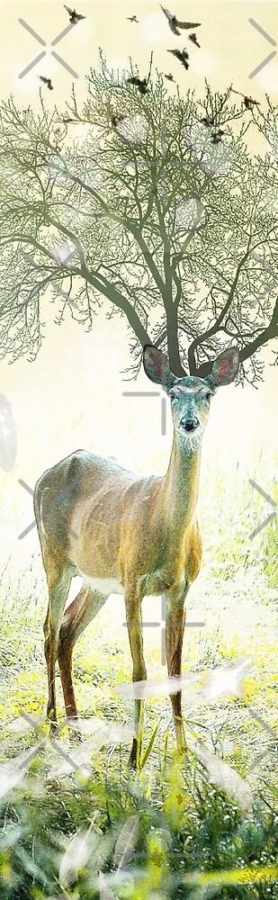 deer tree by Vin  Zzep