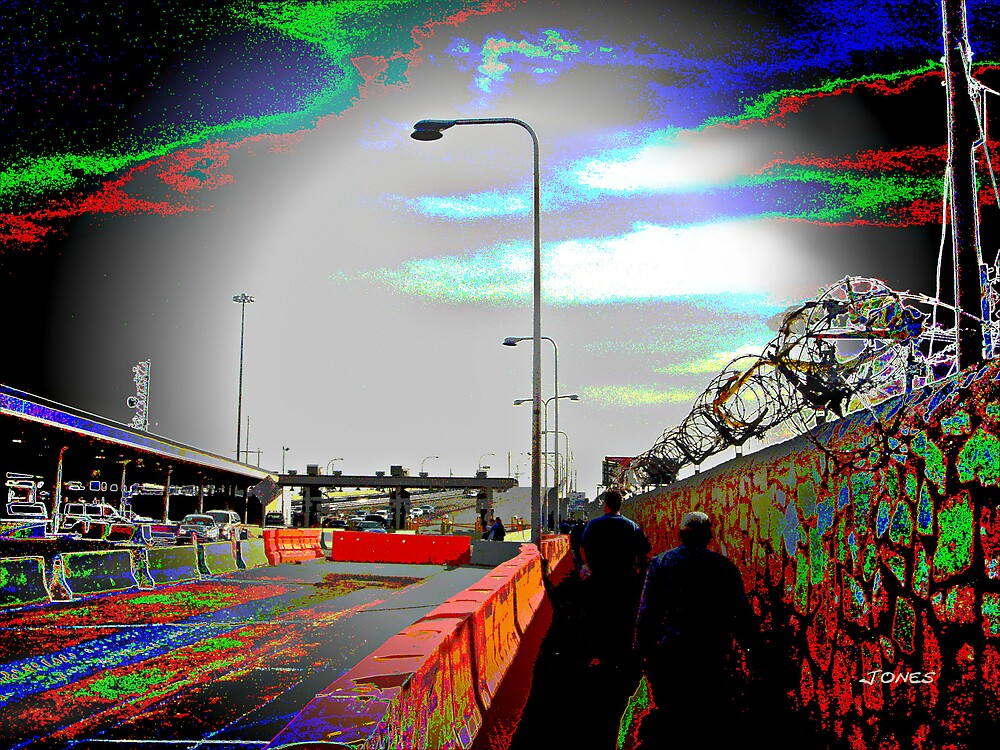 """ Cross The Border "" by Gail Jones"
