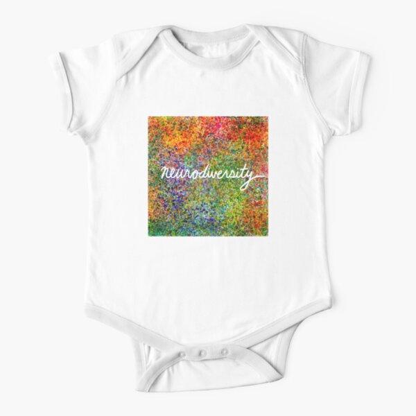 Neurodiversity Short Sleeve Baby One-Piece