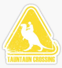 Beware! Tauntaun Crossing! Sticker