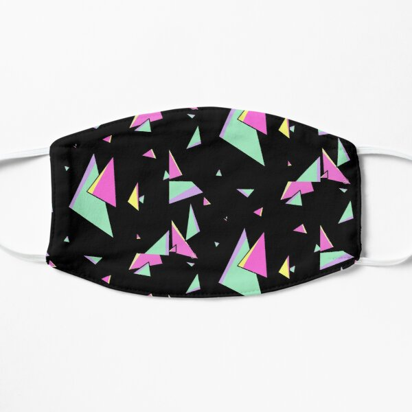 Promare Triangle Fire Aesthetic  Flat Mask