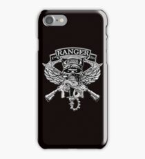 1st Ranger Battalion (T-shirt) iPhone Case/Skin