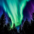 St Paddy's Day Auroras... by peaceofthenorth