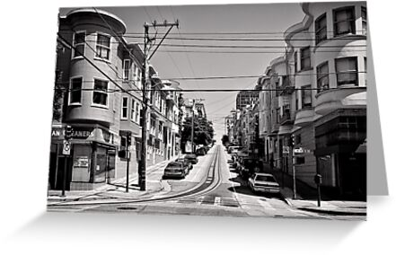 Cnr. Hyde and Washington. San Franscisco - USA by Norman Repacholi