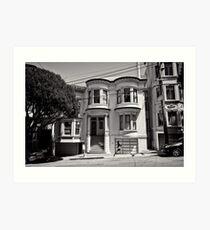 Walk on by - San Francisco - USA Art Print