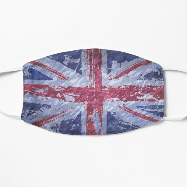 Rustic Union Jack Flag Mask