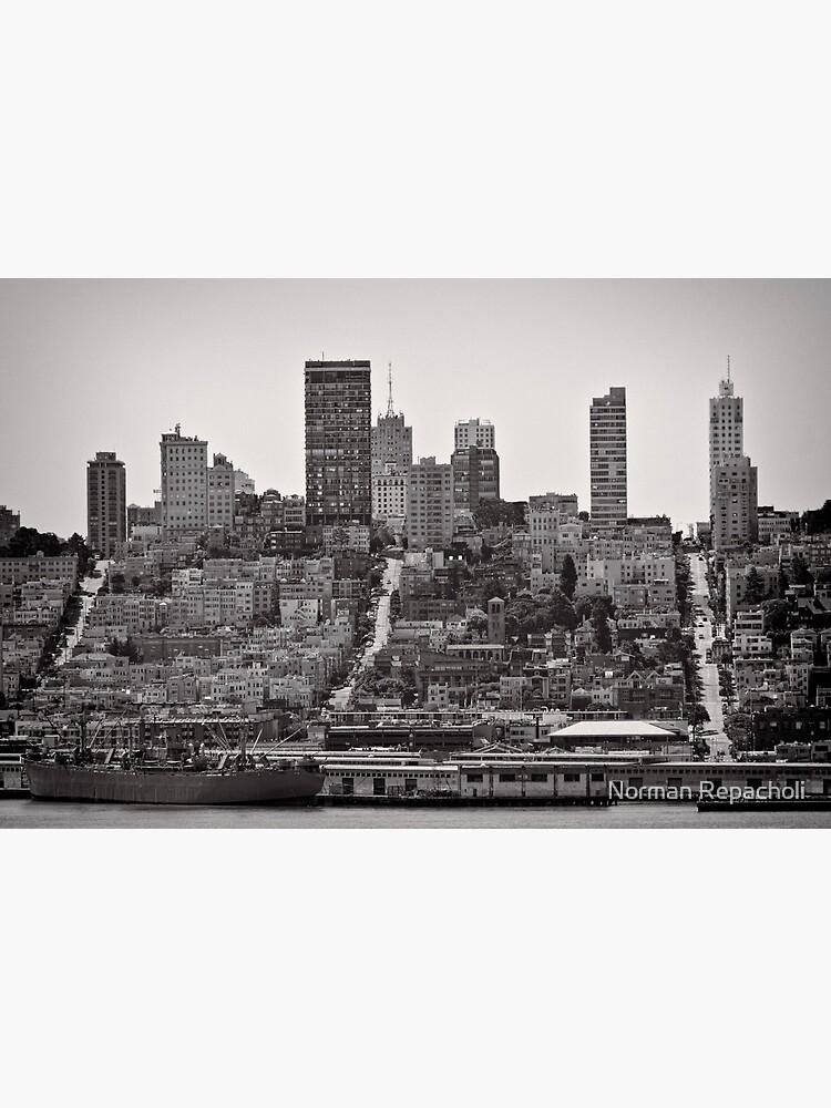 Hills of San Francisco - California, USA by keystone