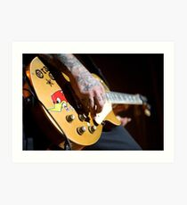 Mike Ness - Social Distortion Art Print