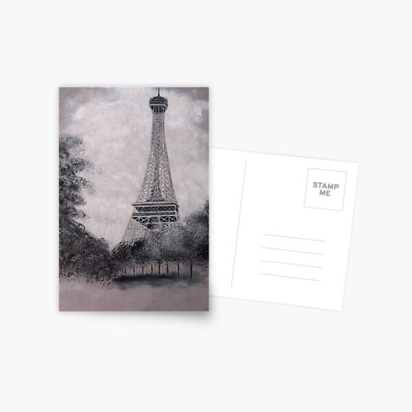 Eiffel Tower Postcard