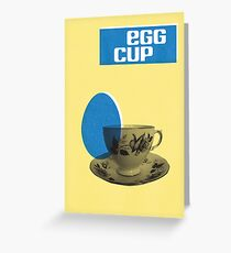 Egg Cup Easter Card Greeting Card