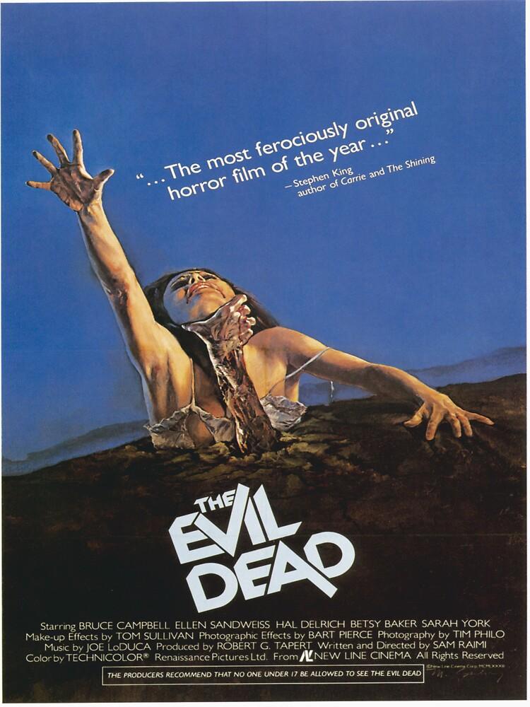 The Evil Dead Movie Poster | Unisex T-Shirt