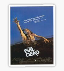 The Evil Dead Movie Poster Sticker