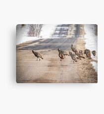 County Road Crew Metal Print