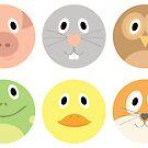 Animal Faces by EmilyListon4
