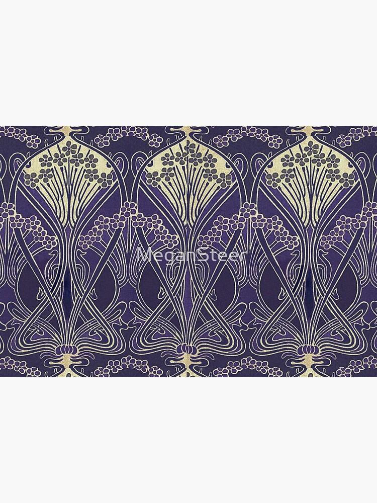 Art Nouveau Icon in Purple by MeganSteer