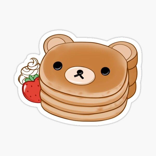 Rilakkuma Pancakes Sticker