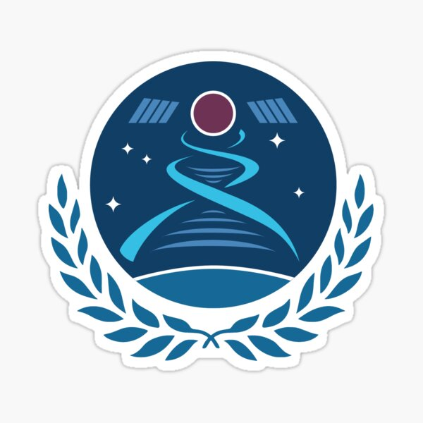 Space Medicine and Life Sciences Project Group Sticker