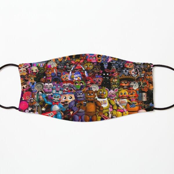 Cinco noches en carteles / pegatinas / máscaras de Freddy Mascarilla para niños