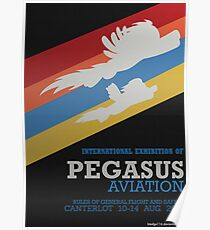 Pegasus Aviation Exhibition Poster
