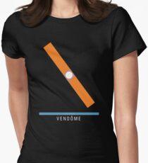 Station Vendôme Womens Fitted T-Shirt