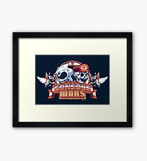 The Console Wars Framed Print
