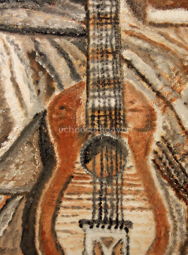 """""""Still Life Guitar"""" by Carter L. Shepard by echoesofheaven"""
