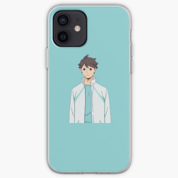 Oikawa Anime iPhone Case (Haikyuu!!) iPhone Soft Case