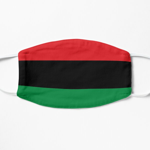 Pan African UNIA Flag Flat Mask