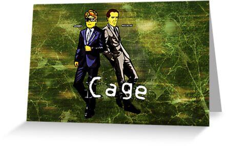 Cage (Print Version) by Rodrigo Marckezini