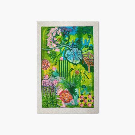 Garden of Delights Art Board Print