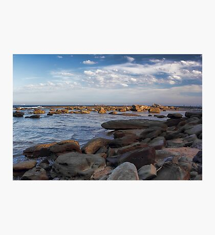 Rock Fishermen Photographic Print