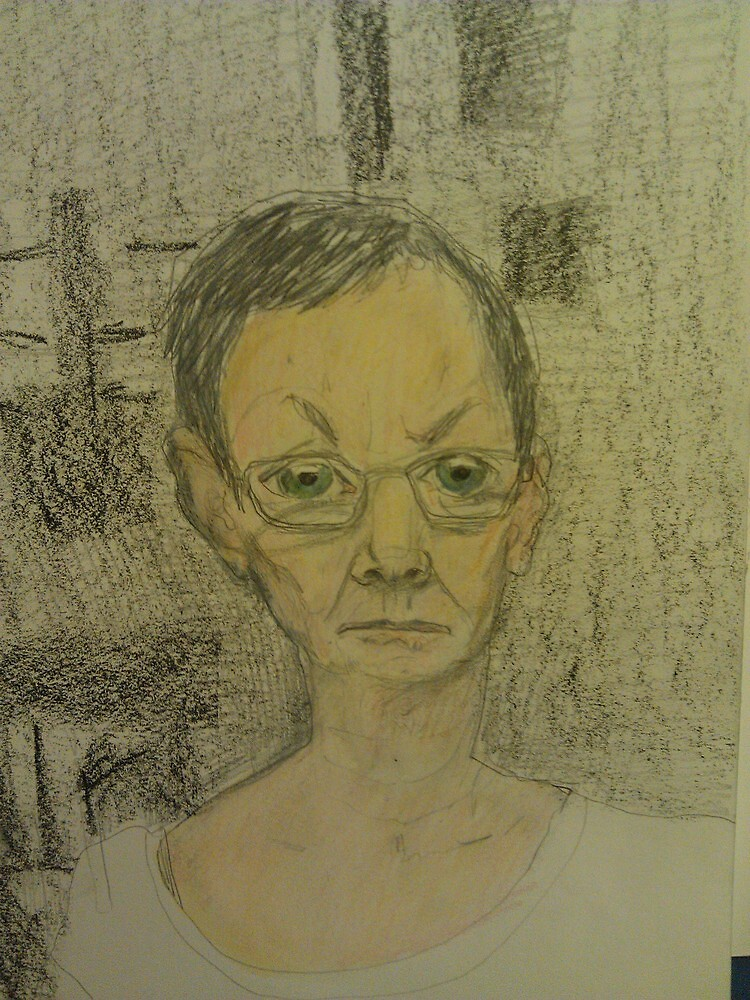 self portrait in a strange house by donna malone