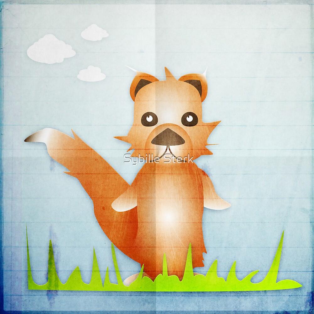 Fox by Sybille Sterk