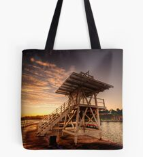 Dive Tower Rise Tote Bag