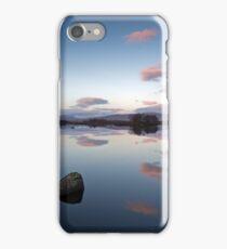 Rock and clouds Loch Ba iPhone Case/Skin