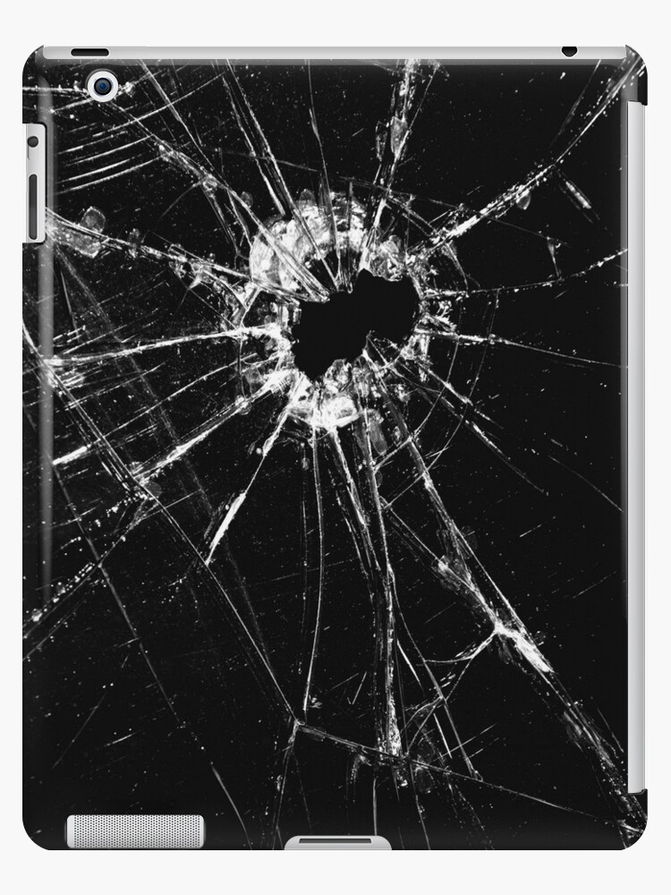 Broken Glass 1 iPad by Brian Carson