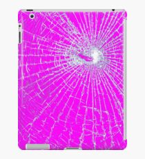 Broken Glass 2 iPad Pink iPad Case/Skin