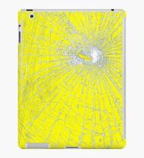 Broken Glass 2 iPad Yellow iPad Case/Skin