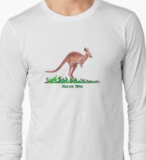 Save the Kangaroo Long Sleeve T-Shirt