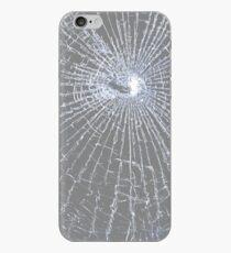 Broken Glass 2 iPhone Gray iPhone Case
