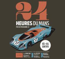 Le Mans Porsche 917 (dark t-shirt) | Unisex T-Shirt