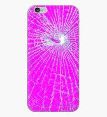 Broken Glass 2 iPhone Pink iPhone Case