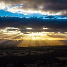 Sunset Over Grampians by Bevlea Ross