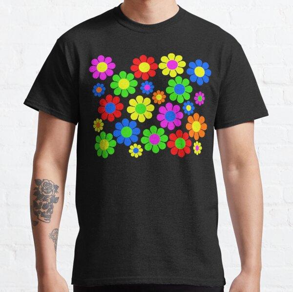 Hippie-Blumen-Gänseblümchen-Frühlingsmuster Classic T-Shirt