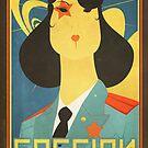 Russian constructivism print by SenPowell
