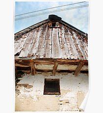 Barn Window in Topolo Poster