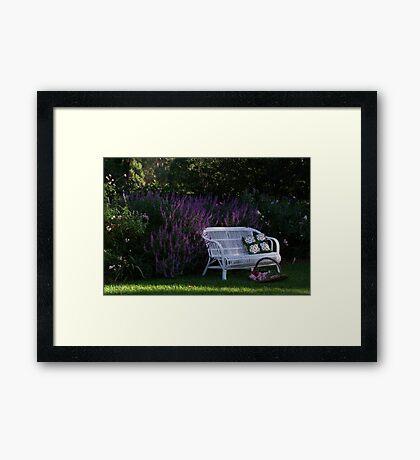 "My Garden ""Rosalee"" Framed Print"