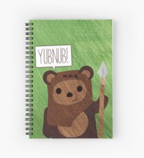 Cute Ewok! YUBNUB!! Spiral Notebook