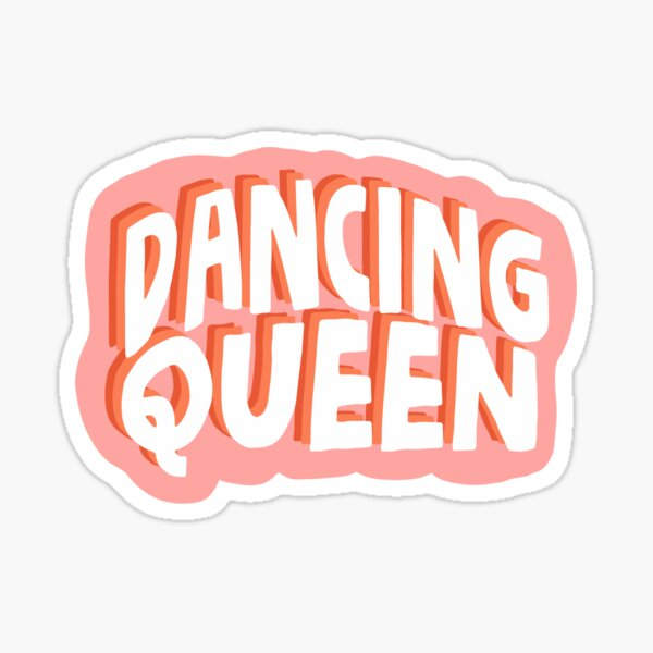 reina del baile mamma mia Pegatina